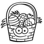 Hermosas imágenes para colorear de Pascuas para descargar