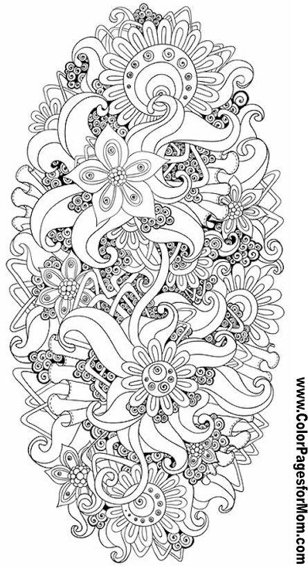 Las mejores mandalas en blanco y negro para colorear ...