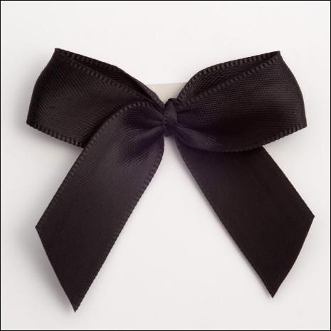 lazoblack-satin-bow