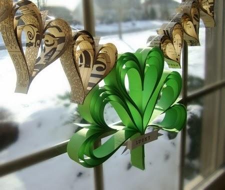 sanDecoración Reciclada para St. Patrick's day991