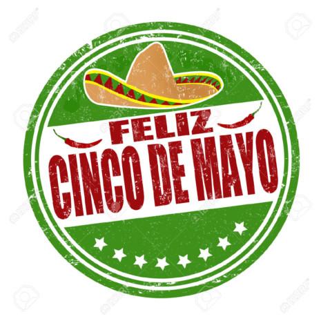 cinco25402591-Happy-5th-of-May-in-spanish-language-Feliz-Cinco-de-Mayo-grunge-rubber-stamp-on-white-vector-illustr-Stock-Vector