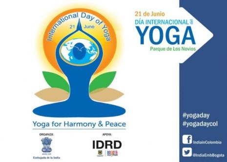 Logo Día Internacional del Yoga