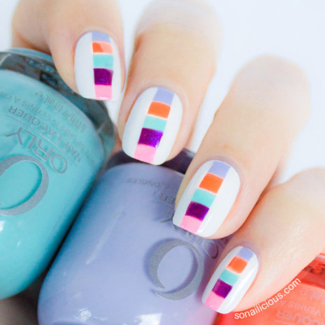 color-block-spring-nails