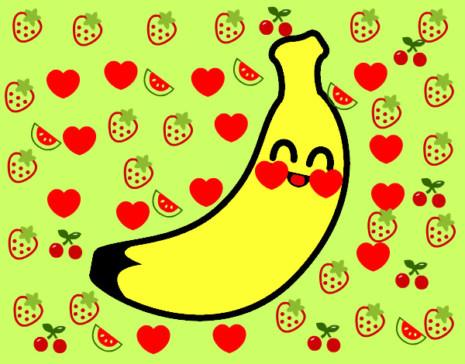 kewaiiplatano-de-canarias-comida-frutas-pintado-por-dahiana200-9906005