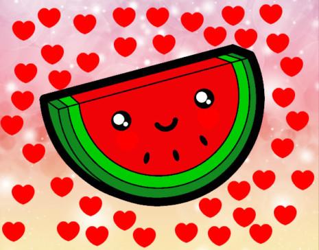 kewaiitrozo-de-sandia-comida-frutas-pintado-por-saritaxxd-9911182
