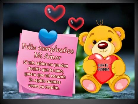 Bellas Imagenes De Feliz Cumpleanos Mi Amor Para Dedicar Y Regalar