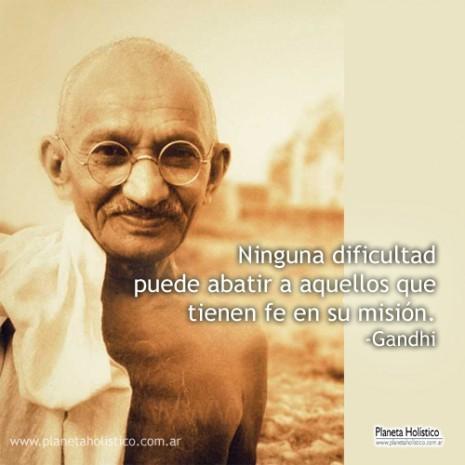 Frases Motivadoras Y Reflexivas De Mahatma Gandhi Para