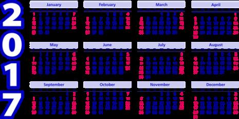 calendario-2017-ingles