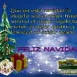 Imágenes y tarjetas con frases bonitas y mensajes cristianos para regalar esta Navidad