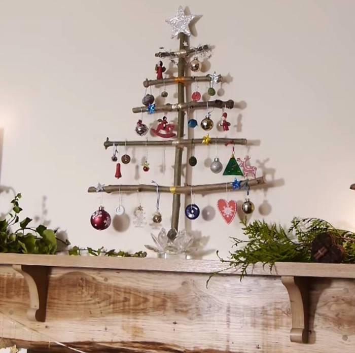 ideas de como hacer un arbol de navidad 50 Imgenes De Navidad Rboles Decoracin Y Manualidades