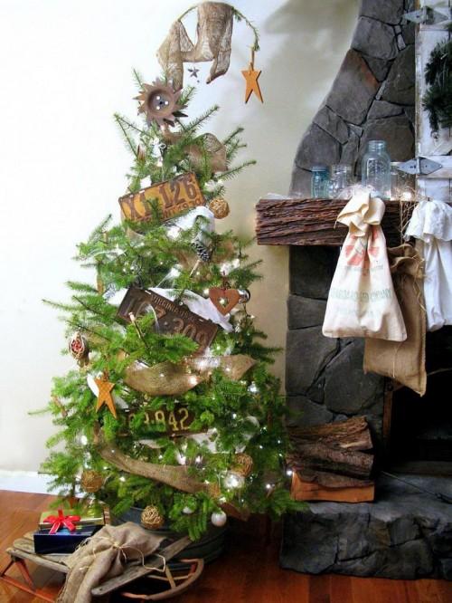 arbol-de-navidad-precioso-decoracio-estilo-vintage