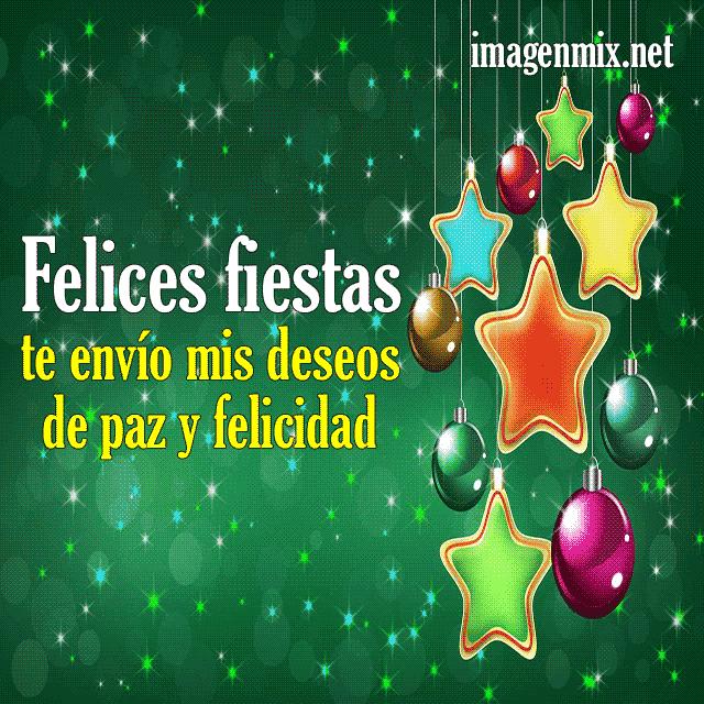 Tarjetas Imágenes Y Gifs Animados De Felices Fiestas Y