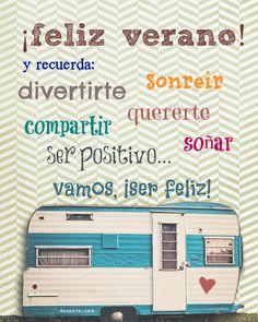 Frases De Felíz Verano Y Bienvenido Verano Imágenes Bonitas Y