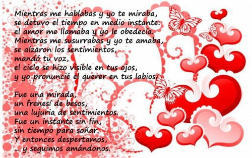 Frases Poesías Tarjetas De Amor Para El 14 De Febrero San