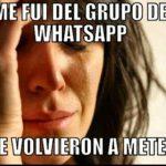 Memes e imágenes divertidas para los grupos de WhatsApp