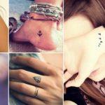 Imágenes de tatuajes femeninos, pequeños y sutiles