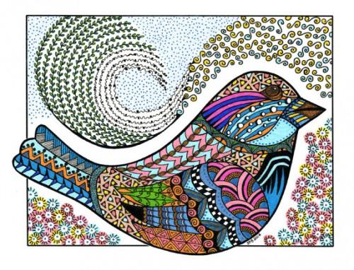 Mandalas Para Colorear Con Animales Y Zentangles: Imágenes De Mandalas De Animales O Zentangles