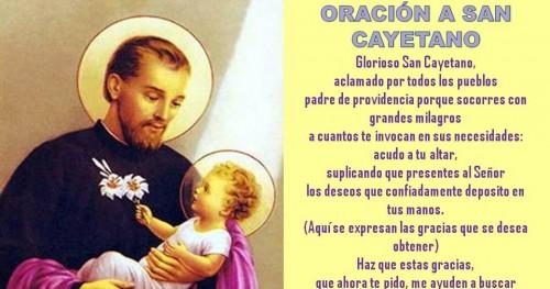 Imagenes Para San Cayetano 2019 Oraciones Estampitas