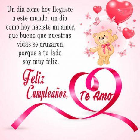 Feliz Cumpleaños Mi Amor Imágenes Y Frases Imágenes Para Whatsapp