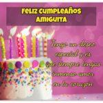 Feliz cumpleaños para amigas, frases e imágenes