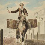 Vendedores ambulantes y pregones coloniales del 25 de mayo 1810 para WhatsApp
