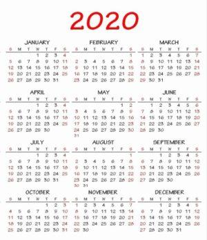 Calendario 2020 Argentina Para Imprimir Pdf.Calendario 2020 Y 2019 Para Imprimir