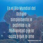 Reflexiones Día Mundial de los Océanos 8 de junio